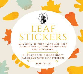 Leaf Stickers 2019