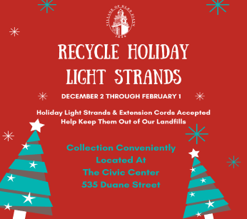 Holiday Light Strand Recycling 2019
