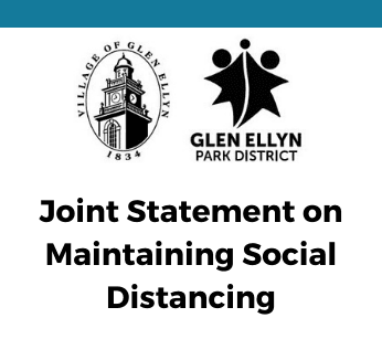Joint Statement on Maintaining Social Distancing