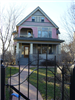 574 N Main three story pink home
