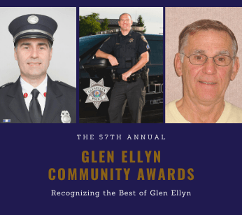 Glen ellyn Community awards 2021